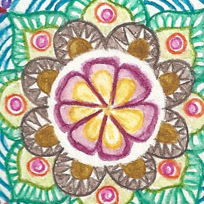 Mandala Flor 2